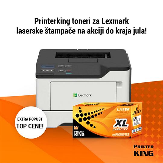 Printerking toneri za Lexmark laserske štampače