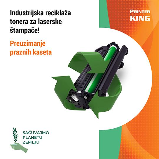 Industrijska reciklaza tonera za laserske stampace
